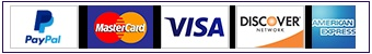 All major credit/debit cards accepted